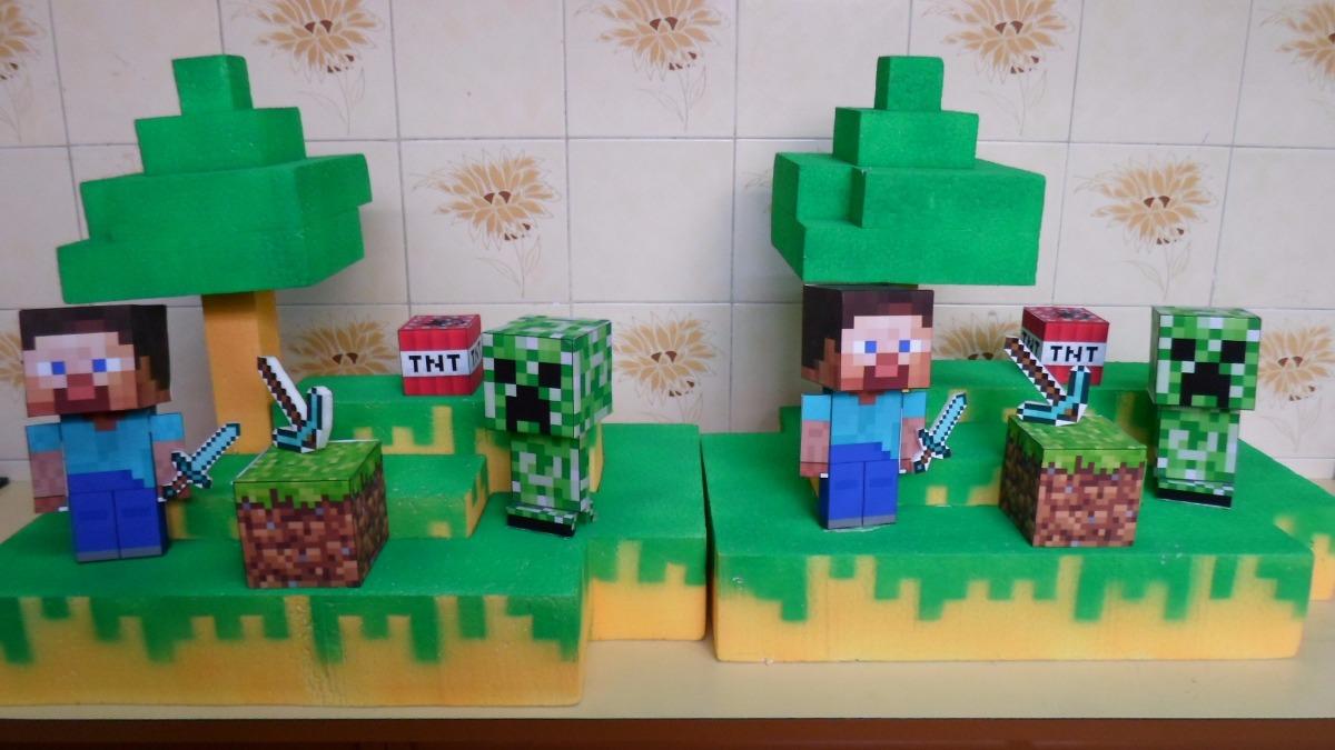 decoracao festa minecraft : Decora??o De Festa Infantil Minecraft R$ 499,90 - R$ 499 ...