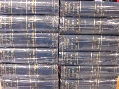 dicionário enciclopédico de medicina e cirurgia em italiano