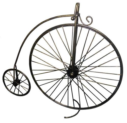 enfeite jardim bicicleta:Enfeite De Ferro Bicicleta Para Decoraçao Casa Jardim Mesa – R$ 63,65