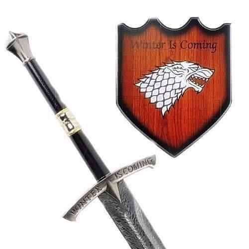 espada game of thrones winter is coming gelo eddard stark r 579 90 em mercado livre. Black Bedroom Furniture Sets. Home Design Ideas