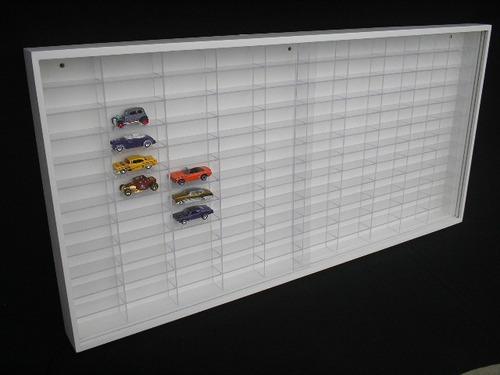estante especial hot wheels ( 120 nichos acrilicos ) coleção