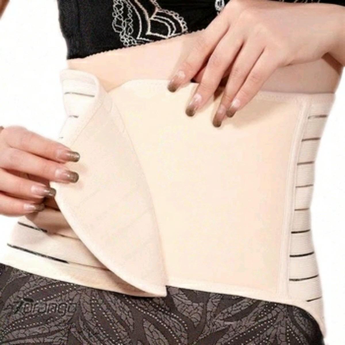 Faixa Modeladora Abdominal Academia Afina Cintura Pós