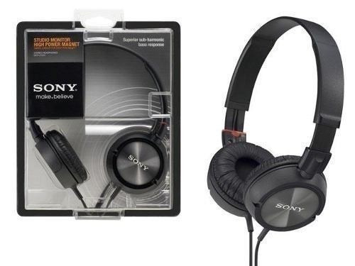 fone de ouvido sony mdr-zx300 headphone profissional
