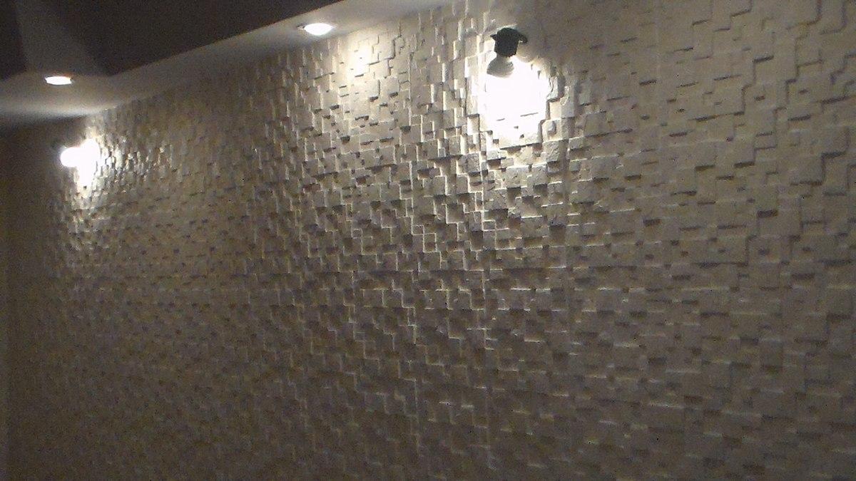 Forma para placa de revestimento de parede r 129 00 em - Revestimiento de parede ...