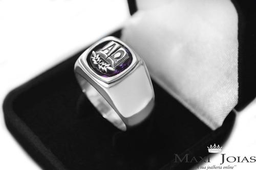 formatura prata anel