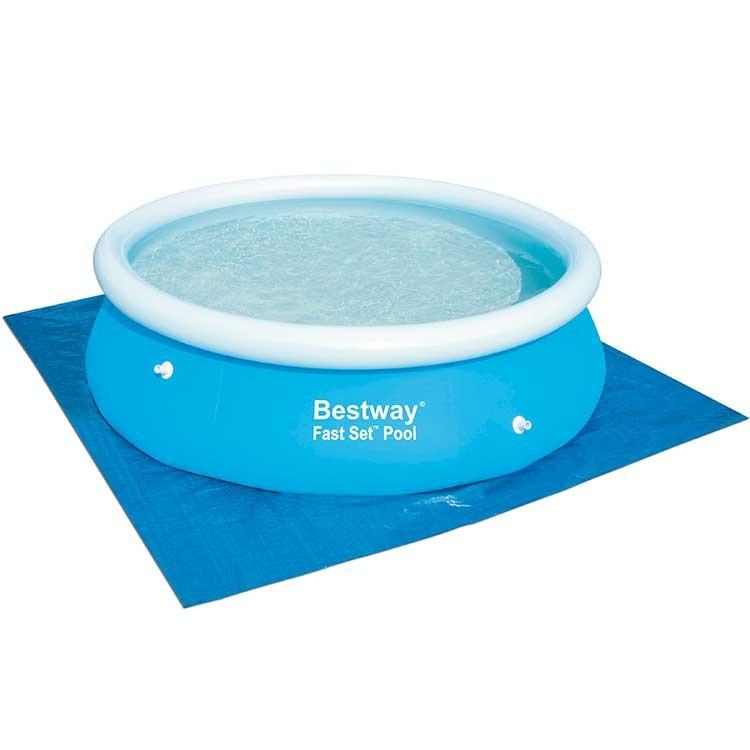 Forro lona piscina infl vel estrutural 274 x 274 bestway for Lona piscina bestway