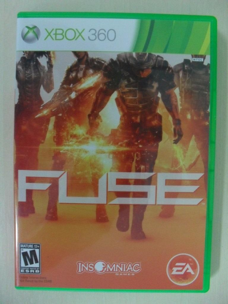 Fuse Xbox 360 Single Player : Fuse completo original xbox ntsc r em