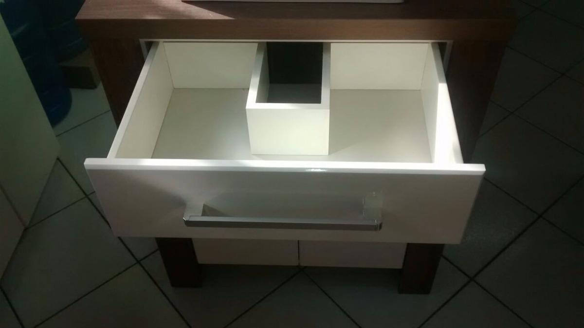 Gabinete  Armário Banheiro 66 Cm M130 Com Cuba E Espelheira  R$ 879,90 em M -> Armario De Chao Banheiro