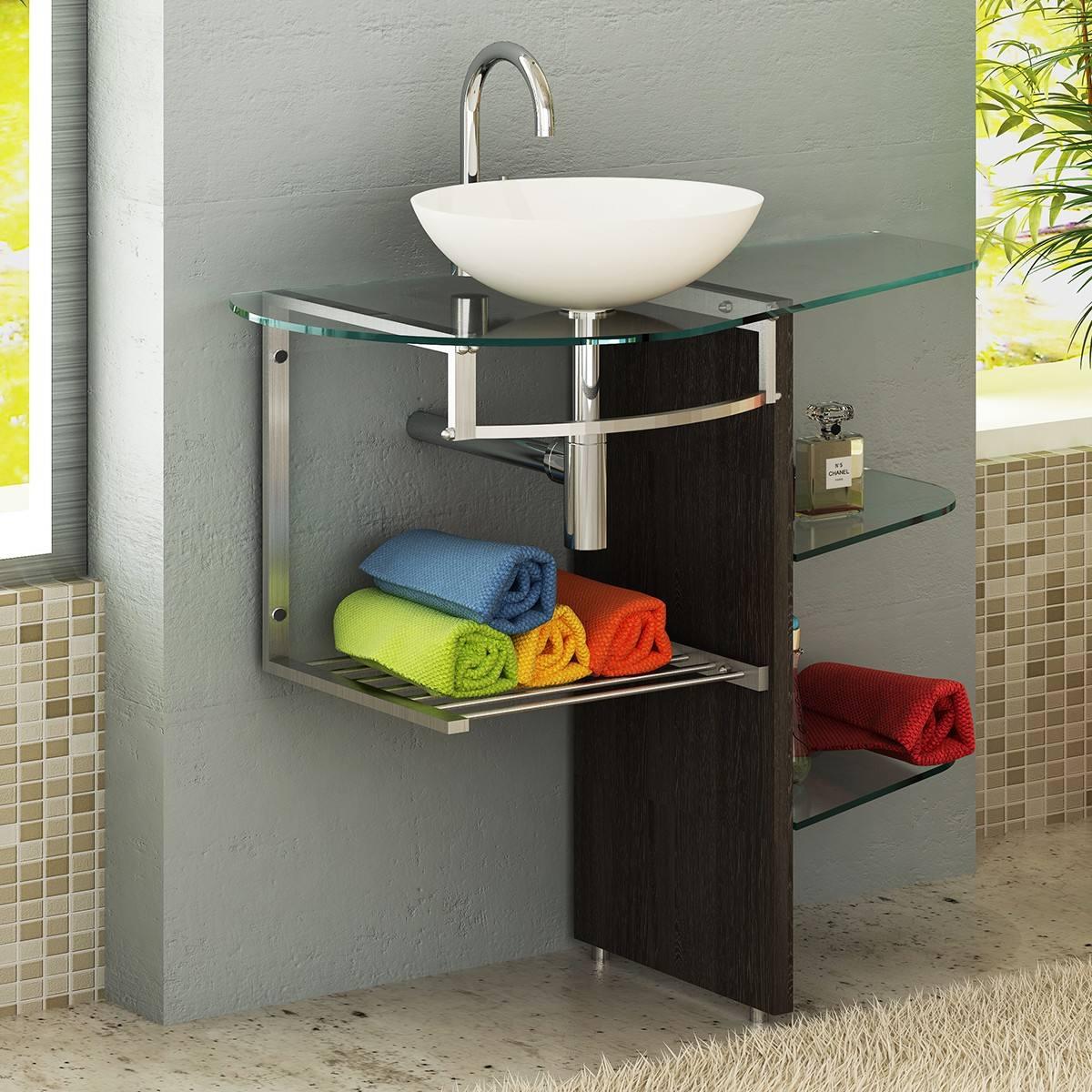 Gabinete Banheiro Alto Padrao Lavabo R$ 1.099 00 em Mercado Livre #A4A823 1200 1200
