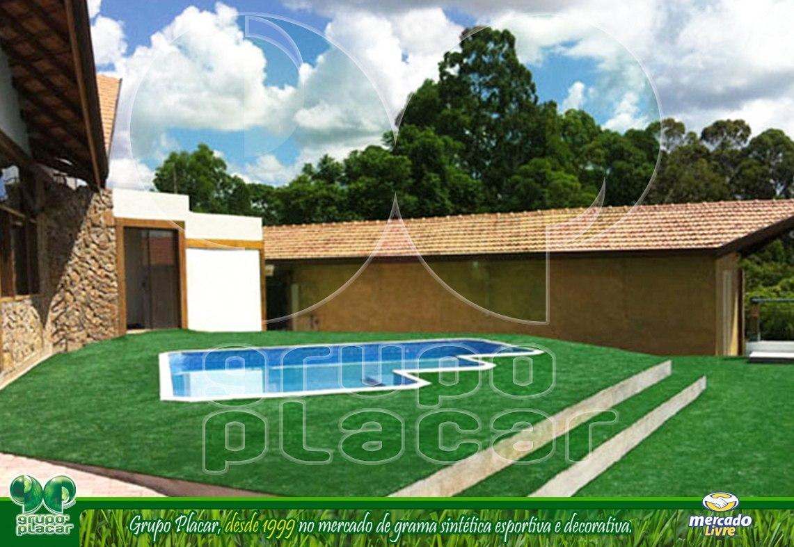 grama sintetica decorativa mercado livre:Grama Sintética Decorativa Playground Piscina Jardim Futebol – R$ 31