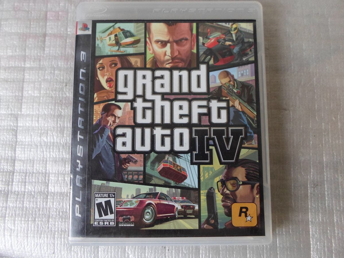 gta iv grand theft auto 4 completo para playstation 3. Black Bedroom Furniture Sets. Home Design Ideas