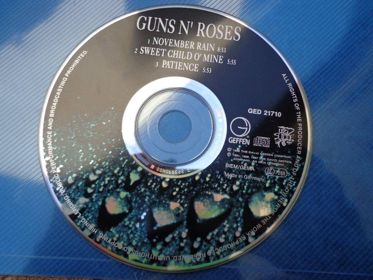 Guns N' Roses - November Rain ...cd Single - R$ 100,00 em Mercado ...