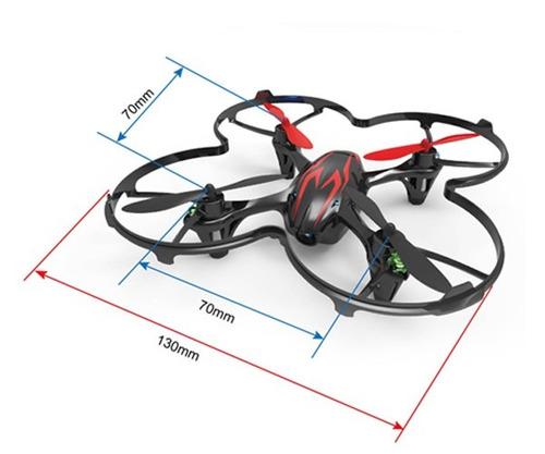 helicóptero quadricóptero hubsan x4 h107c 4ch 2.4ghz câmera