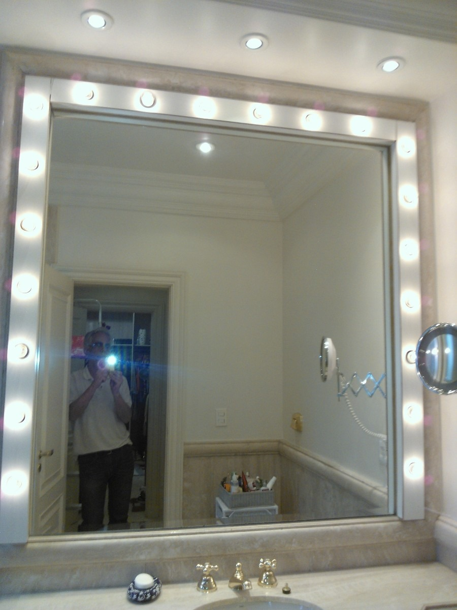 Iluminacao Para Quarto Mercado Livre ~   De Banheiro Tipo Camarim Para Maquiagem5  R$ 160,00 em Mercado Livre