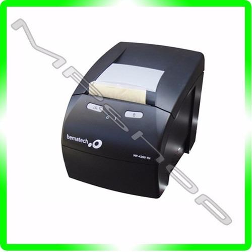 impressora térmica não fiscal bematech mp4200 black - u s b