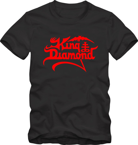 King diamond camiseta tradicional t shirt algod o 30 1 for Diamond and silk t shirts
