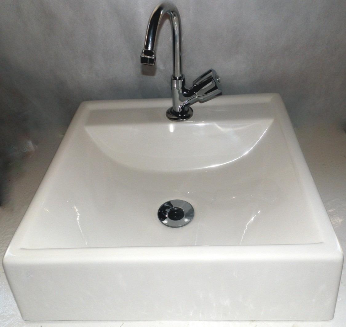 Kit 2 Cuba Sobrepor Para Banheiro Quadrada  R$ 150,00 em Mercado Livre -> Kit Para Pia De Banheiro Mercado Livre