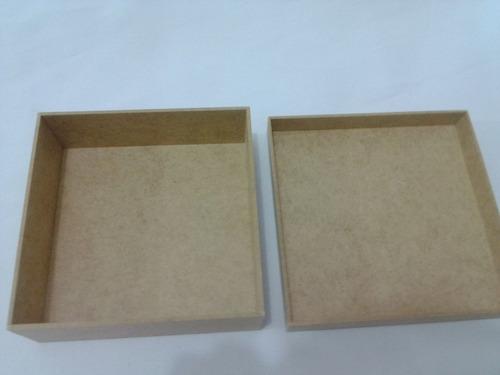 Artesanato Reciclavel Com Cd ~ Kit 30 Caixas 15x15x05 Mdf Cru Atacado Artesanato Decoupage R$ 89,00 em Mercado Livre
