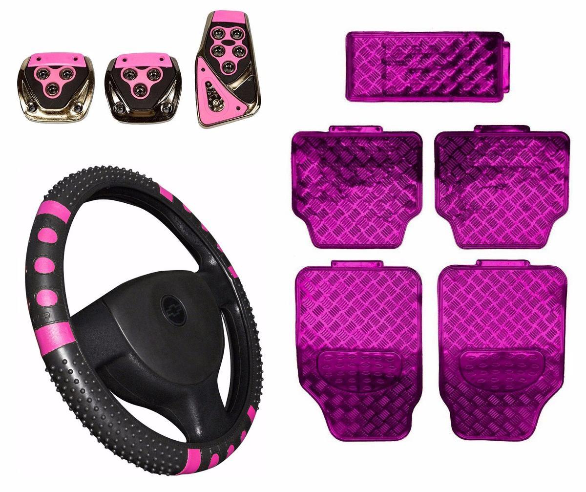 Tapete Rosa Onde Comprar : Kit Rosa Pink Jogo Tapete Jogo De Pedaleiras – R$ 114,90 em Mercado