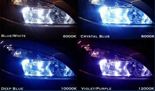 kit xenon hid lampada 6000k 8000k 10000k - garantia total