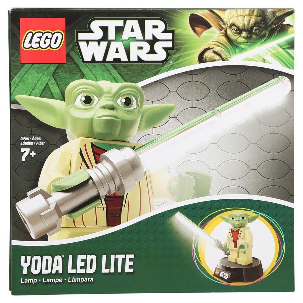 Lampada De Estudos Lego Star Wars Yoda Desk Lamp - R$ 268,00 em ...
