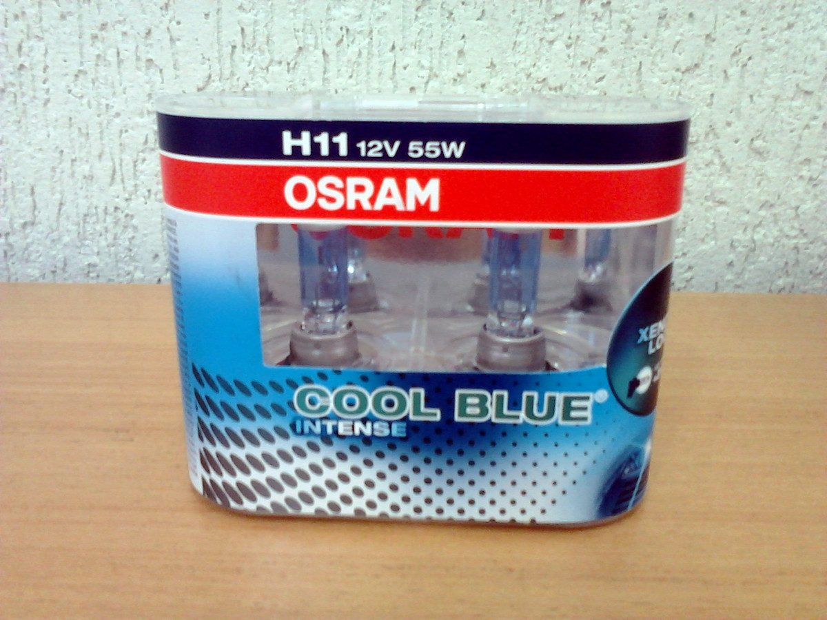 lampada osram cool blue intense h11 farol 4200k super branca r 234 00 em mercado livre. Black Bedroom Furniture Sets. Home Design Ideas