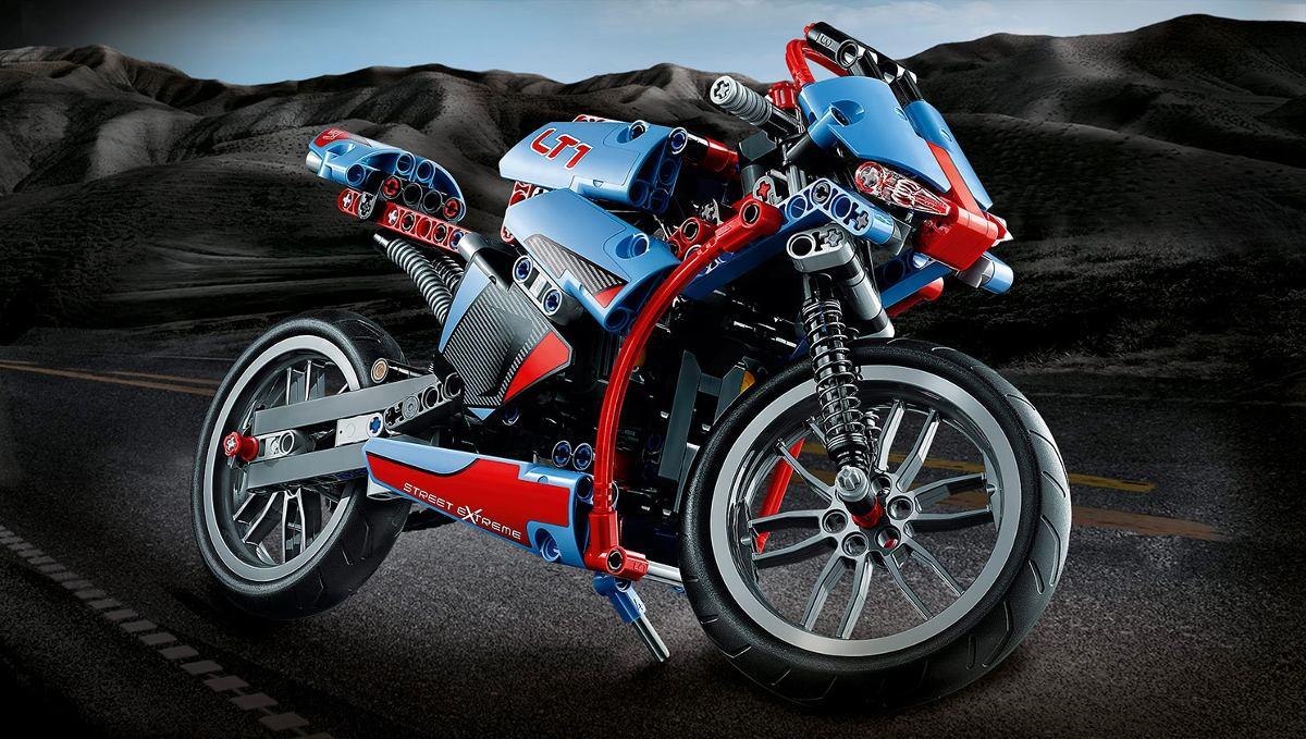 lego 42036 lego technic 2x1 sreet bike moto de corrida r 249 00 em mercado livre. Black Bedroom Furniture Sets. Home Design Ideas