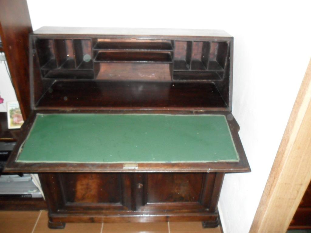 Linda Escrivaninha Antiga R$ 800 00 em Mercado Livre #9C6C2F 1024x768