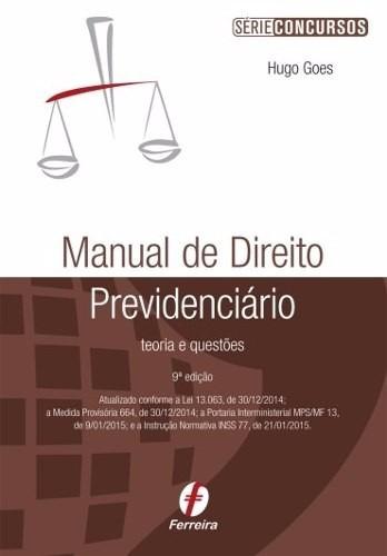 Livro em pdf manual de direito previdenci rio 2015 r for Manual de viveros forestales pdf