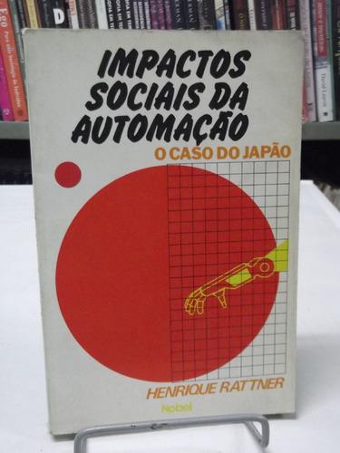 livro - impactos sociais da automação - henrique rattner