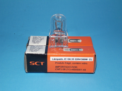 lâmpada tipo jc  64515 220v 300w