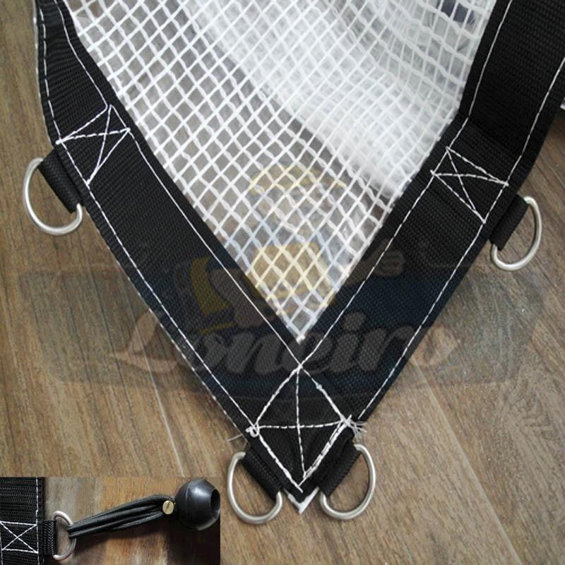 Lona 5x4 transparente cobertura toldo capa piscina for Piscina 5x4