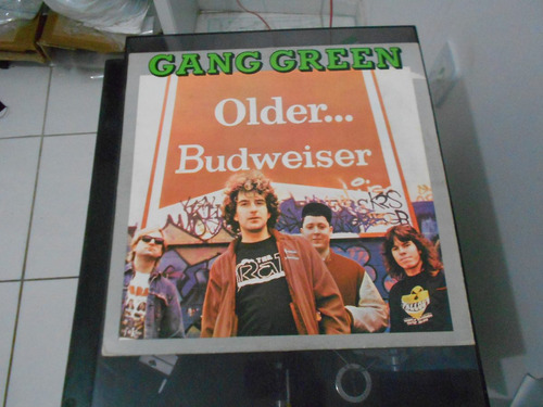 lp - gang green - older... budweiser