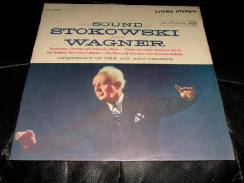 lp sound of stokowski and wagner orquestra sinfonica coral