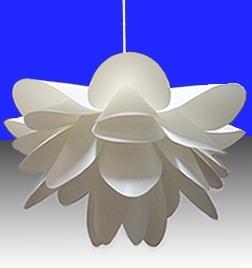 luminária pétalas de lotus.