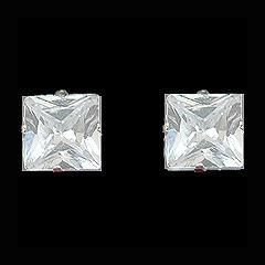 masculinos prata brincos