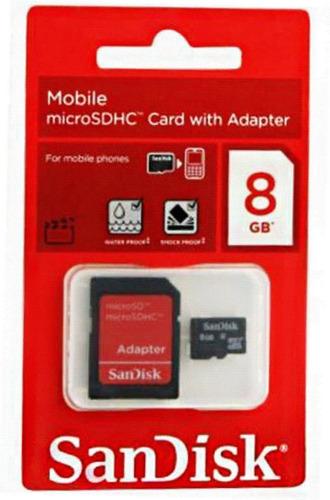 memória micro cartão