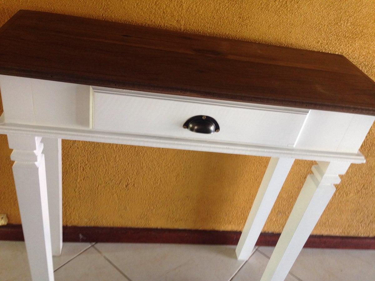 Adesivo De Madeira Para Moveis ~ Mesa Aparador Branco Madeira De Demoliç u00e3o 01 Gaveta Peroba R$ 299,00 em Mercado Livre