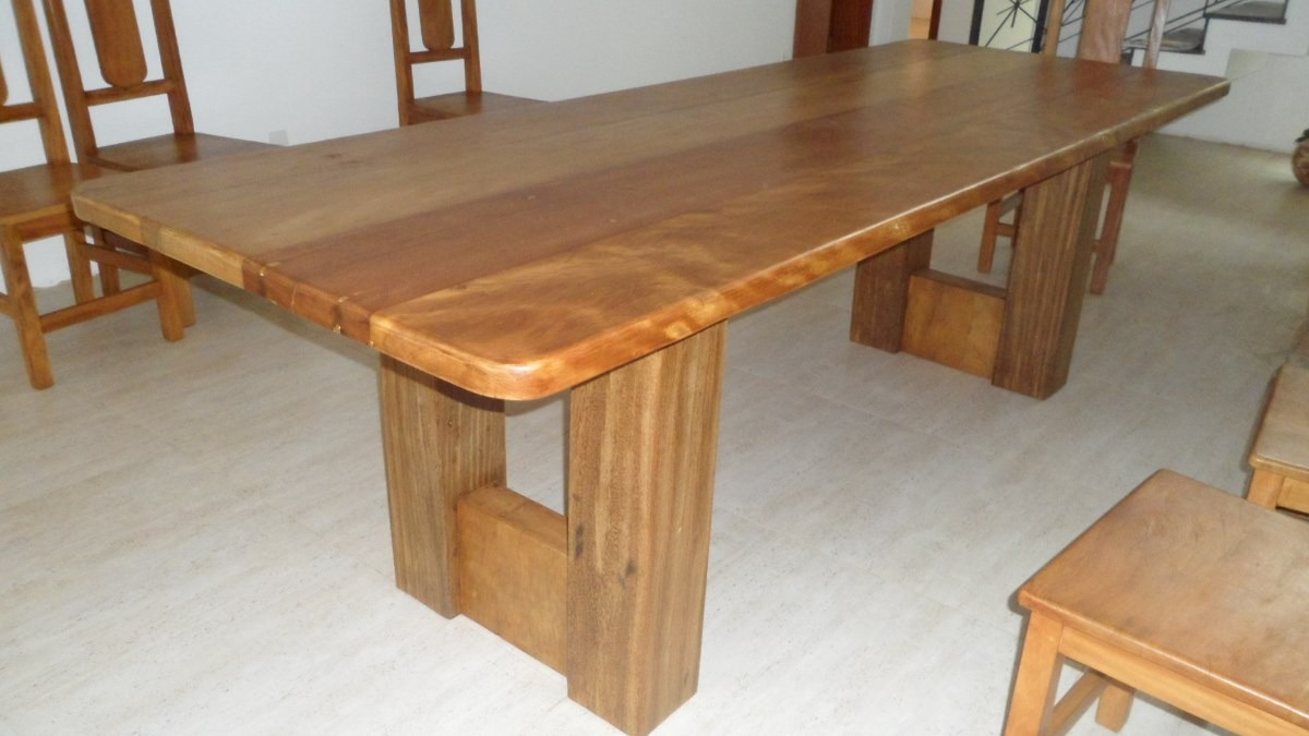 Mesa De Jantar - Madeira Demoli??o - Design Moderno - R$ 4.500,00 em ...