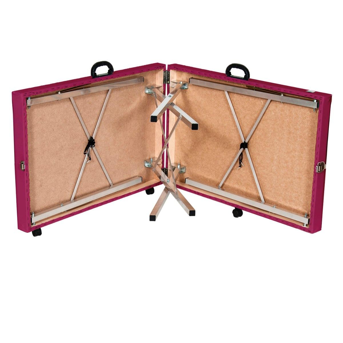 Mesa de massagem dobr vel div maca port til pink r 289 - Mesa de dibujo portatil ...