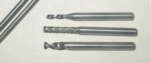 micro brocas de metal duro - todos diametros 0,3mm a 6,5mm
