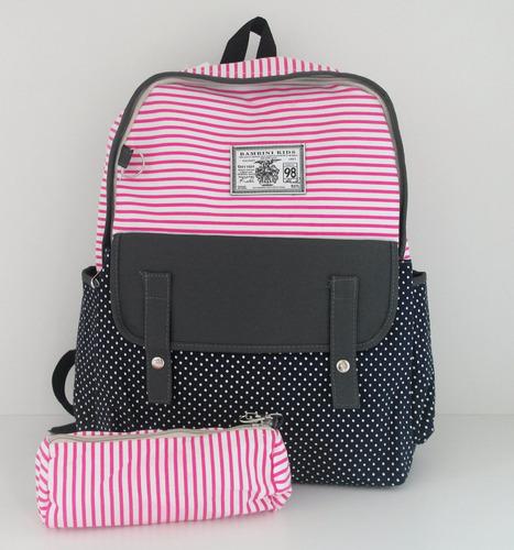 Bolsa Escolar Feminina Mercado Livre : Mochila bolsa feminina escolar faculdade frete gr?t r