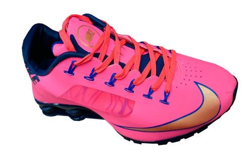 63cbd10e3ff ... nike shox junior rosa pink ...