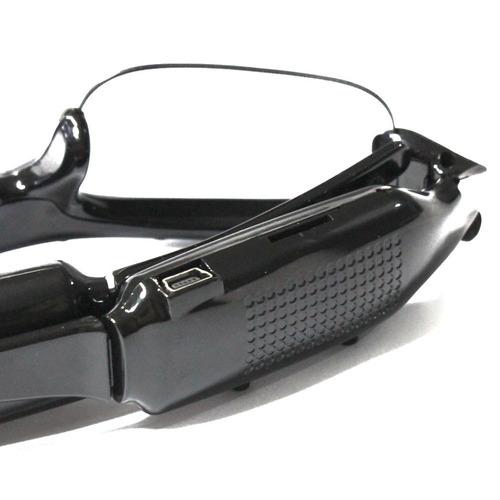 óculos de sol espião filmadora grava tira fotos micro câmera