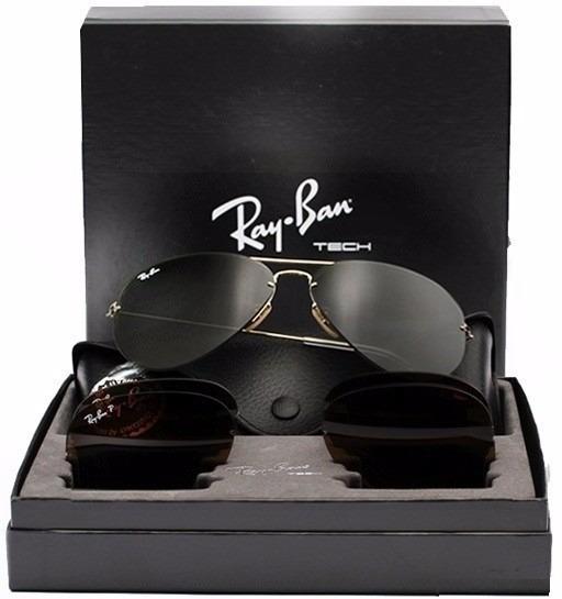 f0ae93aada Oculos Ray Ban Rb 3460 Tech