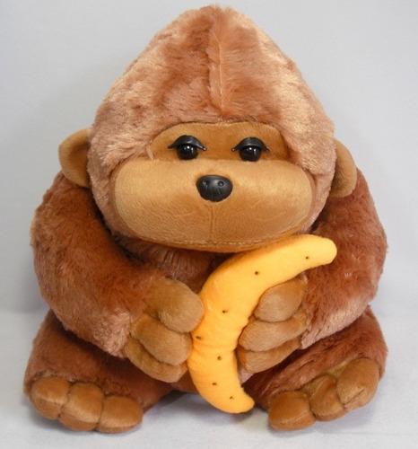 pelucia brinquedo gorila