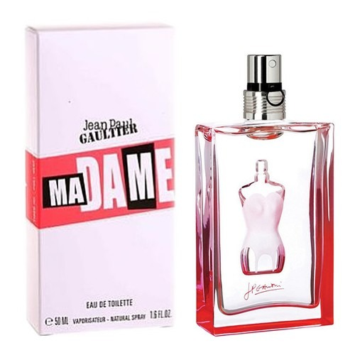 perfume madame jpg jean paul gaultier 100ml original. Black Bedroom Furniture Sets. Home Design Ideas