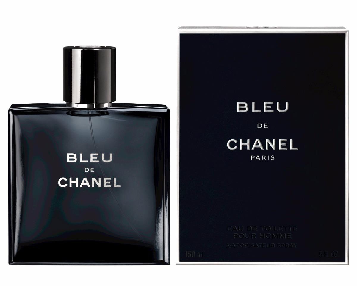 perfume masculino bleu de chanel 100ml 100 originalv r. Black Bedroom Furniture Sets. Home Design Ideas