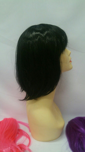 peruca chanel colorida
