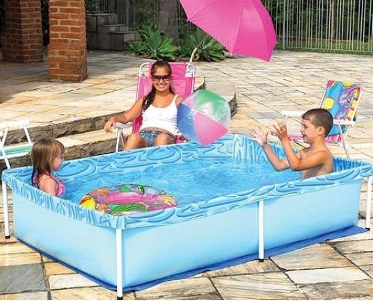Piscina 1000 litros playground piscinas instalada vinil for Piscina infantil 2 mil litros